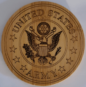 Coaster Set: Military Branch